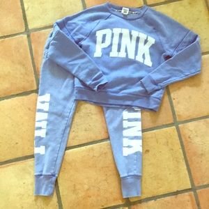 Super soft PINK Victoria Secret Sweat Set